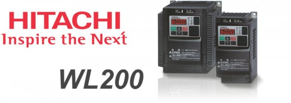 New frequency inverters Hitachi WL200
