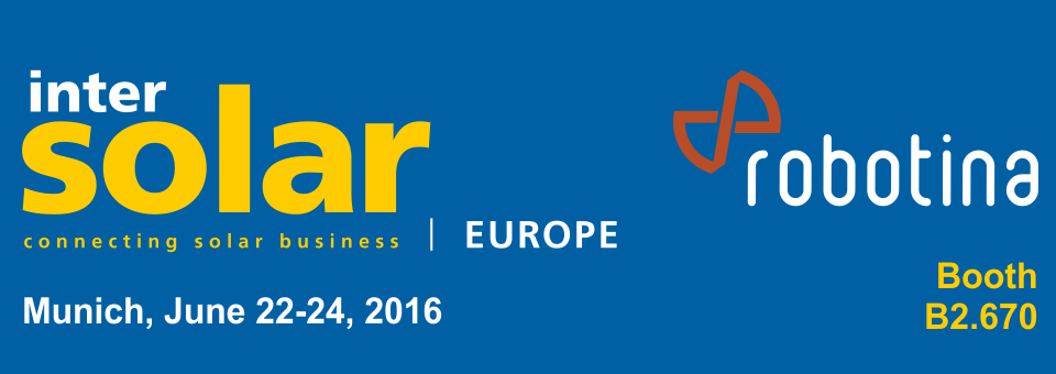 Exhibition Intersolar 2016 Successfully Completed