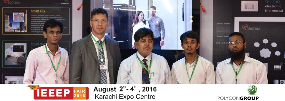 Success at 7th IEEEP fair in Karachi, Pakistan
