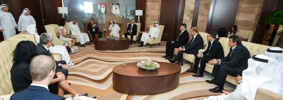 President of board at Robotina meets UAE minister for economy